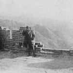 Henri Maux sur la Grande Muraille par -10°