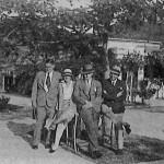 Pékin 1930, avec Bourgoin et les Wilden